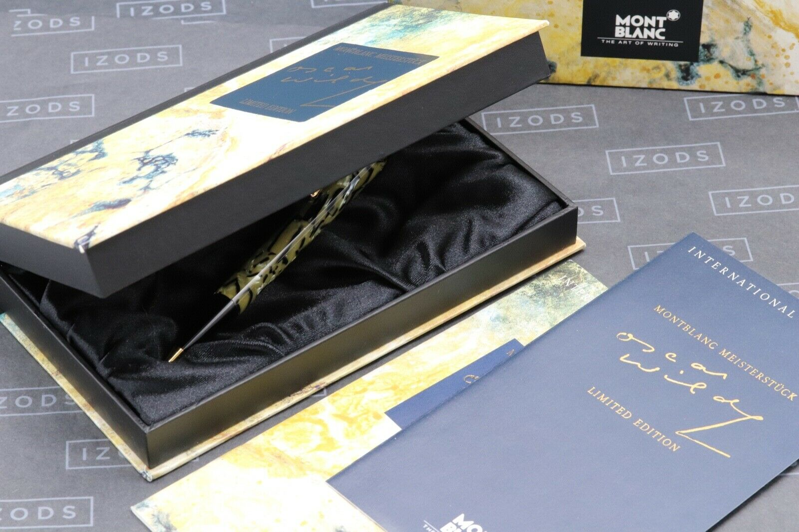 Montblanc Oscar Wilde Writers Limited Edition Mechanical Pencil 9