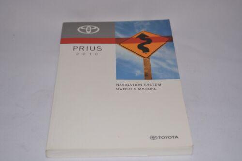 2010 TOYOTA PRIUS OWNERS MANUAL BOOK