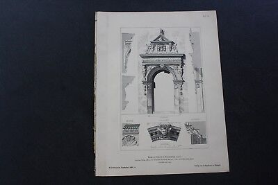 1888 Stich 86 Braunschweig Portal Südklint