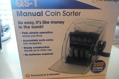 Royal Sovereign Qs1 Manual Crank Coin Sorter Nib