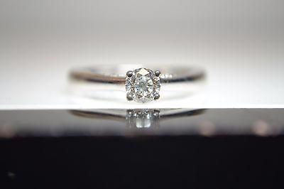 18ct White Gold Forever Diamond Ring