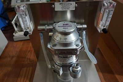 Matrix Medical Veterinary Anesthesia Vaporizer Vip3000 Isoflurane Table Top