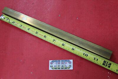 58 X 34 C360 Brass Flat Bar 12 Long Solid Mill Stock H02 .625x .75