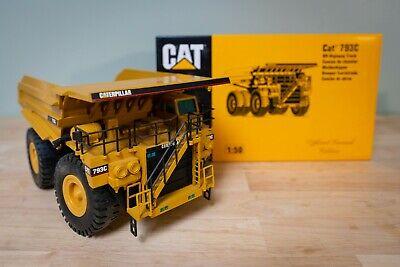 NZG, CAT 793C OFF HIGHWAY TRUCK, 1:50 SCALE DIE CAST MODEL, IN ITS ORIGINAL BOX.