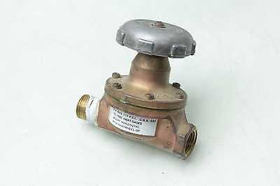 Airco 801-0034 Oil Free Inert Gas Regulator Valve 12 Npt 250 Psi