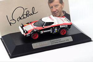 Lancia Stratos #1 Winner Rallye Hunsrück 1978 Röhrl / Geistdörfer 1:43 Ixo
