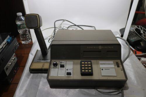 General Electric 64A30 Mastr Controller Transmit Monitor w/Mic Shure 19B209459P1