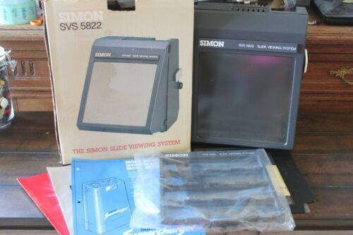 Simon SVS 5822 Slide Viewing System #S35