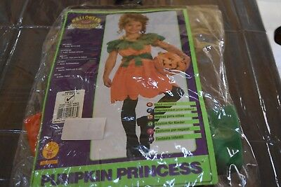Pumkin Princess Pumpkin Orange Girls Kids Halloween Costume size 8-10  Rubie's (Halloween Costumes Pumpkin Princess)