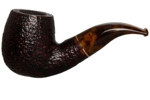 Savinelli La Corta 616 C Rustic Tobacco Pipe - Bent Billiard