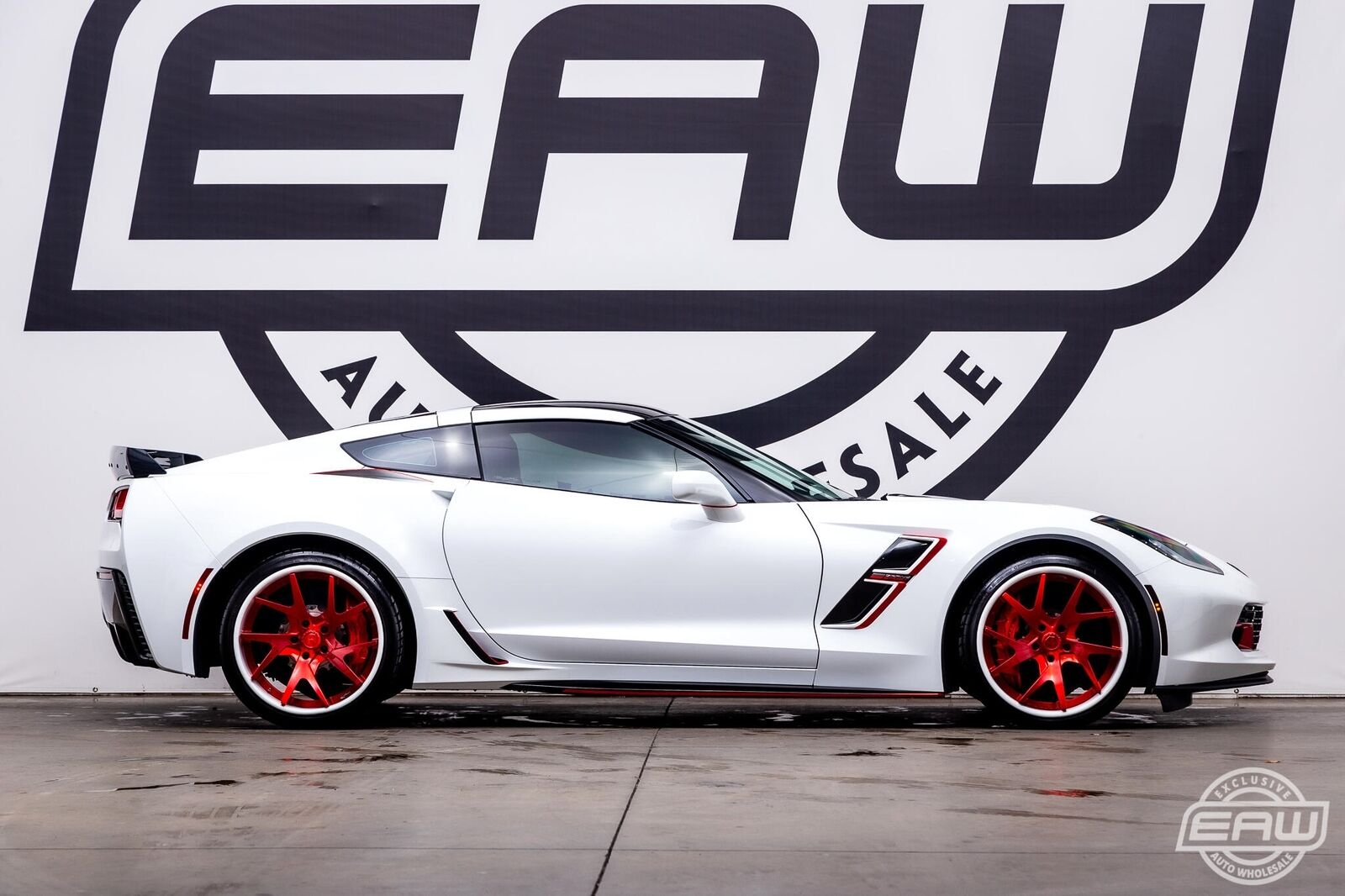 2017 White Chevrolet Corvette Grand Sport 3LT | C7 Corvette Photo 8
