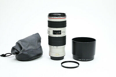 Canon EF 70-200mm f/4 L IS USM Lens