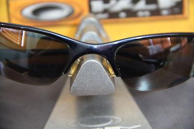 ☯☯☯ Oakley HALFWIRE DARK BLUE FRAME // BLACK IRIDIUM // VINTAGE // HARD TO FIND  for sale  Shipping to India
