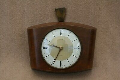 VINTAGE SMITHS SECTRONIC BATTERY WALL CLOCK FOR SPARES OR REPAIR