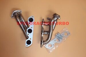 Exhaust Header For 99-04 Ford Mustang V6 3.8l Stainless Steel Exhaust Shorty