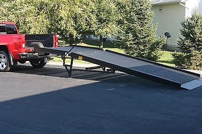 dock mobile yard ramp loading/leveling portable truck ramp NEW Ideal Ramp