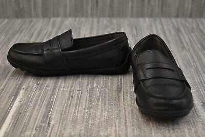 **Geox Kids Jr Fast 1 J746CA Loafers, Little Boys Size 11 / EU 29, Black