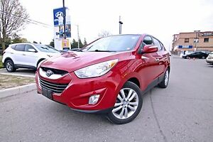2012 Hyundai Tucson LIMITED AWD, ONE OWNER, CLEAN CARPROOF, NON