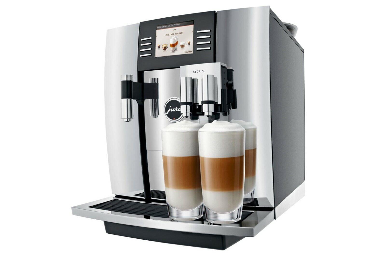Jura GIGA 5 11 Cups Espresso Machine - Chrome, free shipping