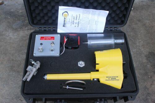 Bierer meter AVPG&E 0-TO- 500KV AUDIBLE VISUAL