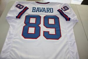 MARK BAVARO #89 TE SEWN STITCHED ROAD THROWBACK JERSEY SIZE XLG SUPER BOWL XXI