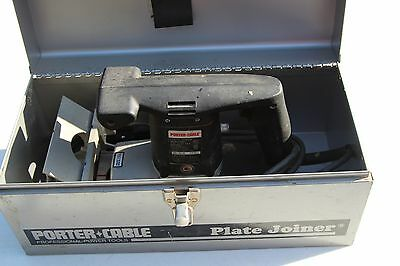 Porter Cable 555 Plate Joiner Biscuit Cutter w/ Case nice