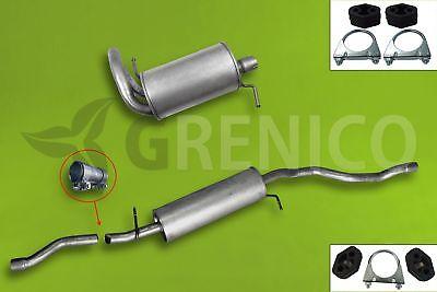 Komplette Auspuffanlage ab Kat VW SHARAN 1.9 TDi 2.0 TDi TD 2002-2010 online kaufen