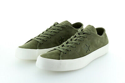 Converse Cons One Star Prime Ox Suede Leather Green Olive Gr. 42,5 / 43 US 9 segunda mano  Embacar hacia Spain