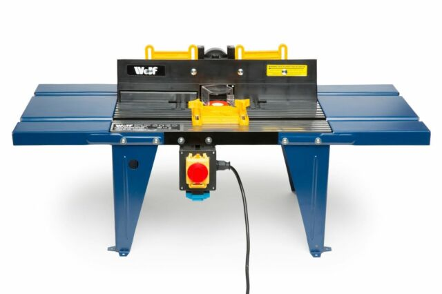 Router table ebay wolf aluminium router table spindle moulder greentooth Gallery