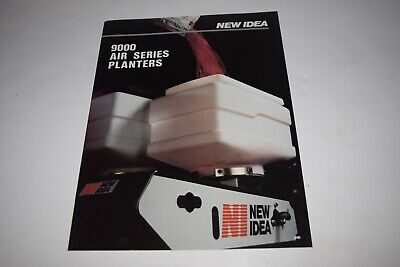 White New Idea Models 9700 9800 9900 Air Planters Sales Brochure