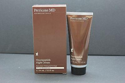Perricone Md Neuropeptide Night Cream 2 5 Oz New In Box