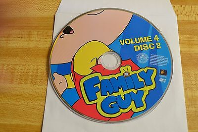 - Family Guy Volume 4 Disc 2 Replacement DVD Disc Only 44-6