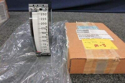 Military Parts Panel Meter Temperature Scale 0-250 F 4980p1800-31 Navy Kaiser