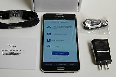 Samsung Galaxy Note 3 SM-N900A 32GB Black unlocked (AT&T) Smartphone New Other