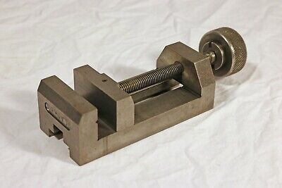 Precision Machinists Toolmakers Vise - 2 58 Jaw - Ground Hardened Steel