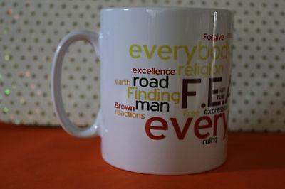IAN BROWN THE FEAR  F.E.A.R THE STONE ROSES  Tea/Coffee Mug