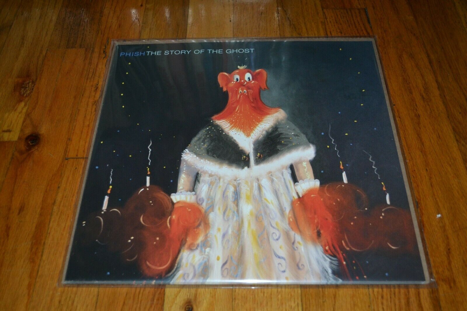 PHISH THE STORY OF THE GHOST LOT OF 8 RECORD ALBUM PROMO FLAT MINT - $7.99