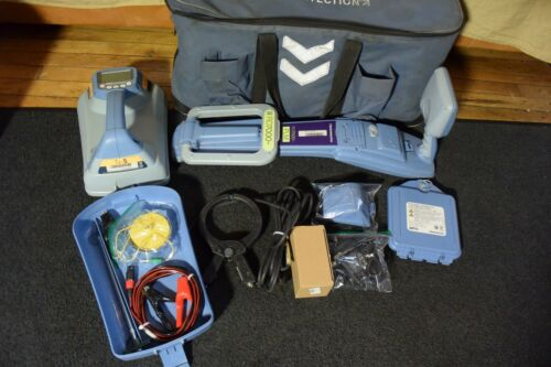 Radiodetection Locator Set ModeI RD7000+ PLM Locator Wand and TX5 Transmitter