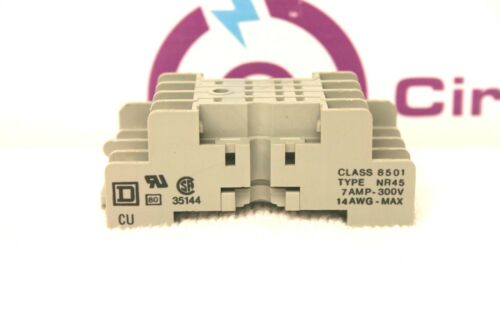 Square D 8501-NR45 Relay Base *XLNT* 8501NR45