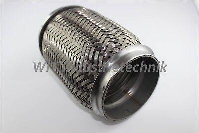Edelstahl Flexrohr (Flexrohr Interlock 76mm 76,1mm Länge 150mm Flexstück Edelstahl  )