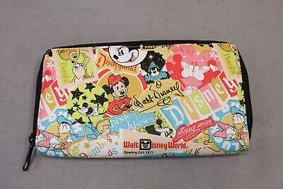 Walt Disney World Women's Accordion Zip Wallet EW9 Multicolor