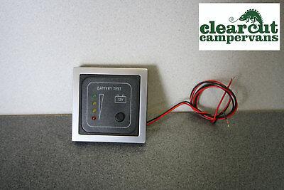 CBE 12v Battery Condition Monitor/Tester/ Volt Meter for Campervan/Motorhome