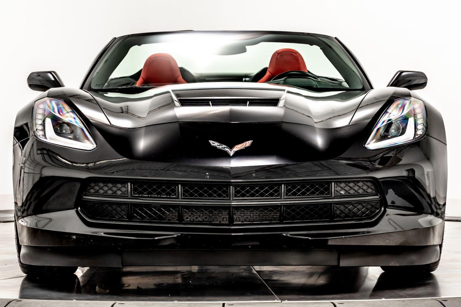 2014 Black Chevrolet Corvette Convertible 2LT   C7 Corvette Photo 3