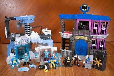 Imaginext Batman Bundle: Gotham City Jail + Mr. Freeze Headquarters + Extras