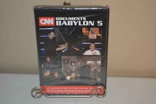 Babylon 5 CNN Documents Babylon 5 2016 DVD 3 Disk Set Sealed Unopened NEW