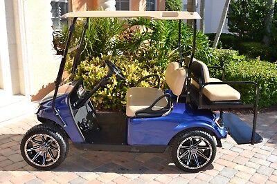 EZ-GO Revamp Street Legal Conversion Golf Cart 2018 Gas Powered