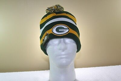 Retro GREEN BAY PACKERS New Era sideline Football Stocking Cap NEW Tags attached for sale  Shipping to Canada