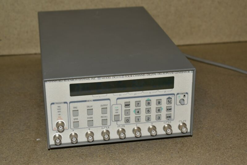 ^^ Stanford Research SRS DG535 Digital Delay/Pulse Generator OPT 01 02 03 (YH60)