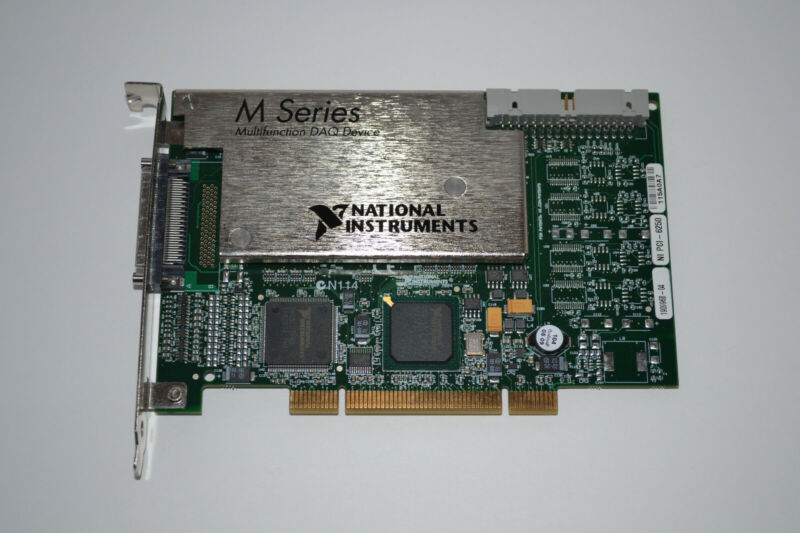 National Instruments NI PCI-6250 16 AI (16-bit, 1.25 MS/s), 24 DIO Multifunction