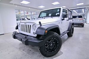 2016 Jeep Wrangler  4WD WRANGLER SPORT, ONE OWNER, CLEAN CARPROO